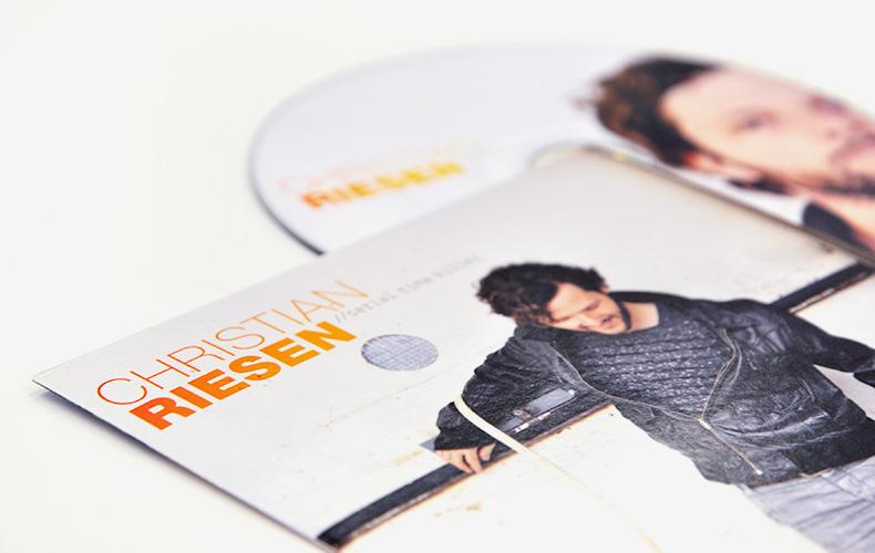 Arbeiten Referenzen Christian Riesen CD Serial Time Killer