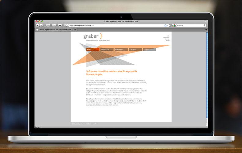 Arbeiten Referenzen Graber Software