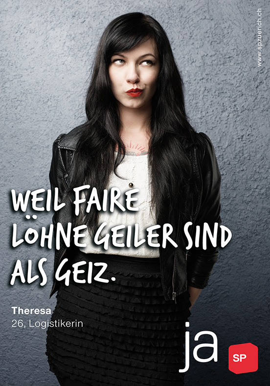 Arbeiten Referenzen SP Kanton Zürich Imagekampagne