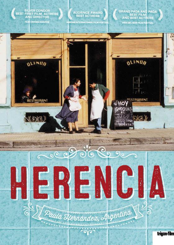 Arbeiten Referenzen trigon Filmplakat Herencia