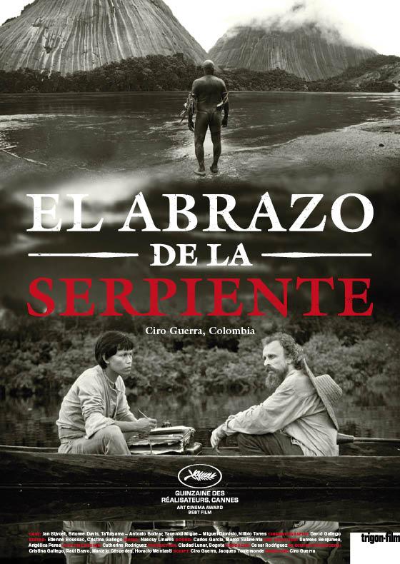 Arbeiten Referenzen trigon Filmplakat El Abrazo De La Serpiente