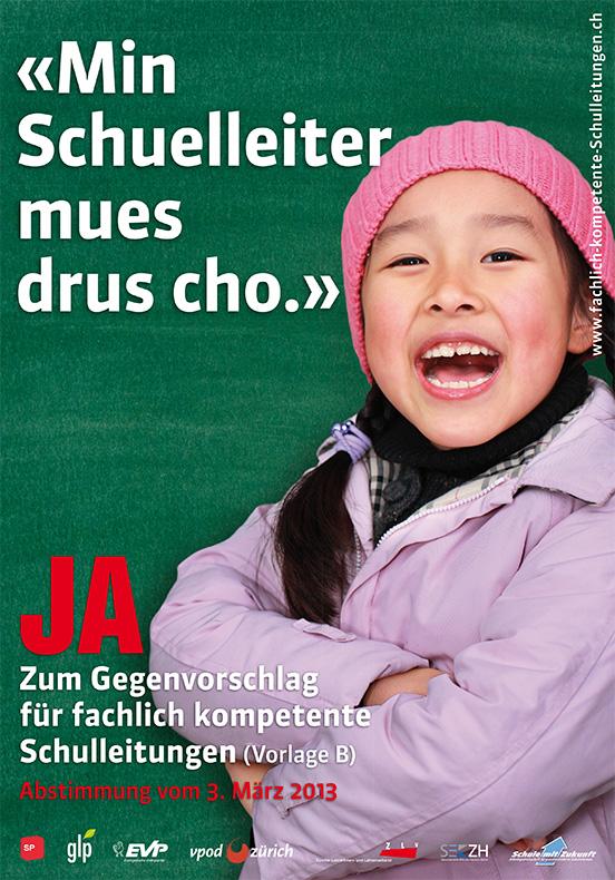 Arbeiten Rubriken Kampagne VPOD Zürich